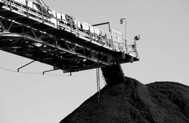 Coal conveyor collapse